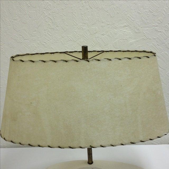 Royal Haeger Mid-Century Atomic Ceramic Lamp - Image 4 of 6
