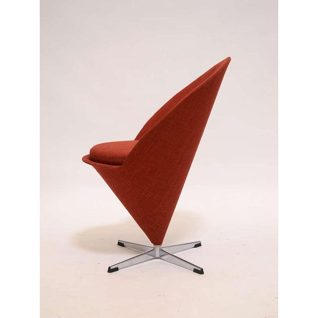 Cone chair by Verner Panton For Sale In Chicago - Image 6 of 9