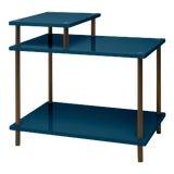 Image of Veere Grenney Collection Addison Bedside Table in Indigo Blue For Sale