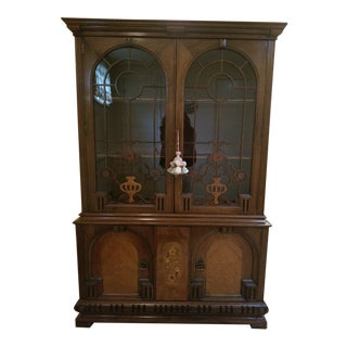 Jacobean China Cabinet For Sale
