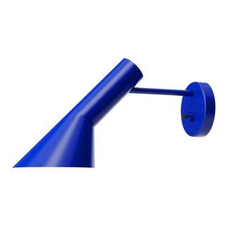 Arne Jacobsen Aj Wall Light for Louis Poulsen in Ultra Blue For Sale