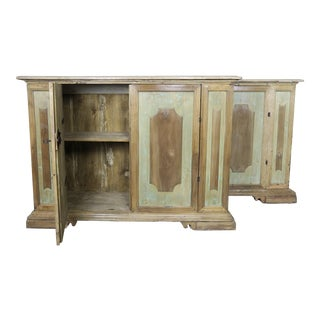 Early 19th Century Italian Painted Sideboards- a Pair For Sale