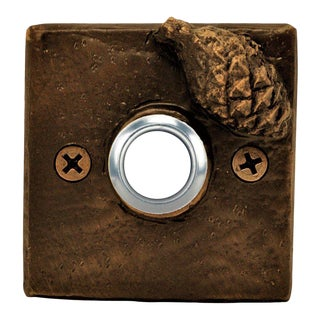 Square Lodgepole Cone Doorbell For Sale