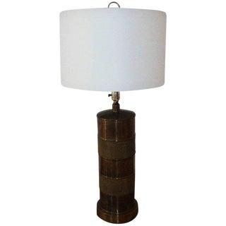 Paul Hansen Brass Lamp For Sale