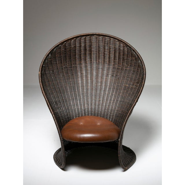 Vittorio Bonacina Foglia Lounge Chair by Travasa for Bonacina For Sale - Image 4 of 8