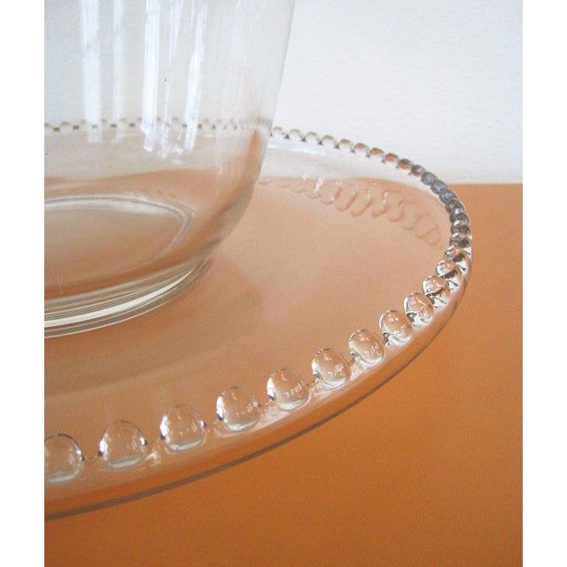 Mid-Century Modern Vintage Imperial Candlewick Punch Bowl Set With Cups - Set of 14 For Sale - Image 3 of 6