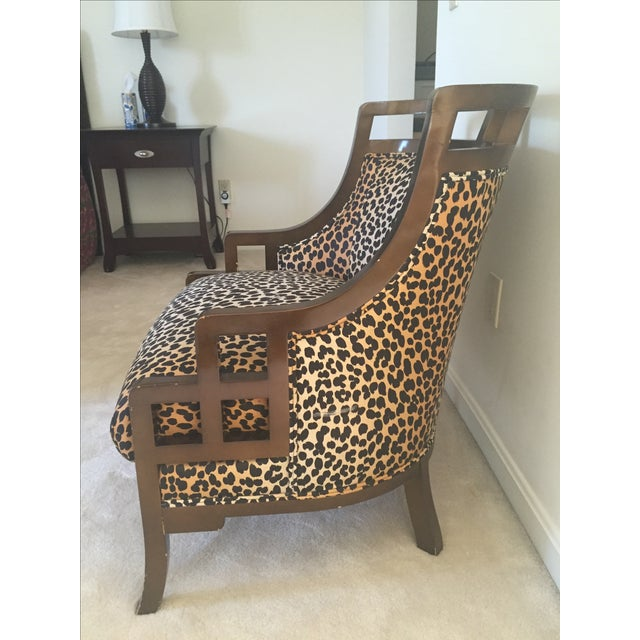 Leopard Print Chair - Image 5 of 7
