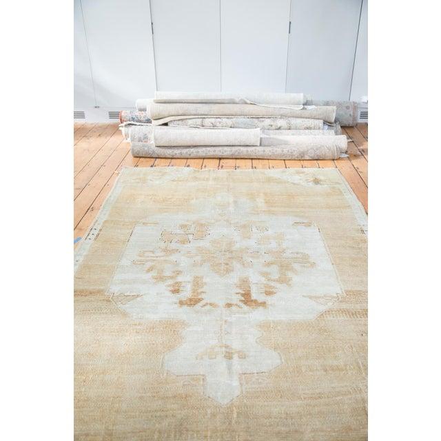 "Distressed Oushak Carpet - 5'10"" X 9'1"" - Image 3 of 10"