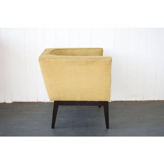 Pair of 1950s Cube Chairs For Sale - Image 4 of 7