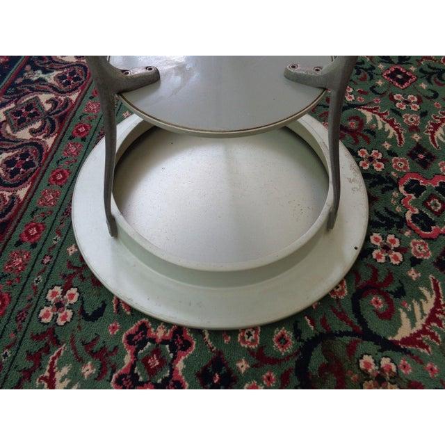 Mid Century Italian Arper Aluminum Table - Image 8 of 10