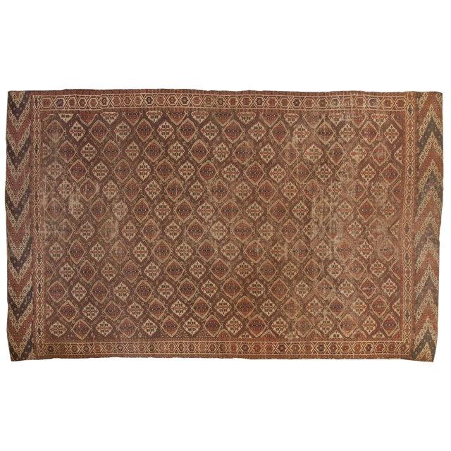 "Antique Beshir Carpet - 8'9"" X 14' For Sale"