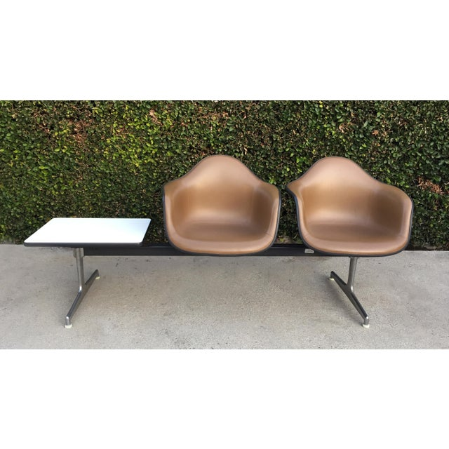 Vintage Eames Shell Chair Tandem Seating - Image 2 of 4