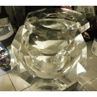 Alessandro Albrizzi Large Heavy Lucite Ice Bucket Preview
