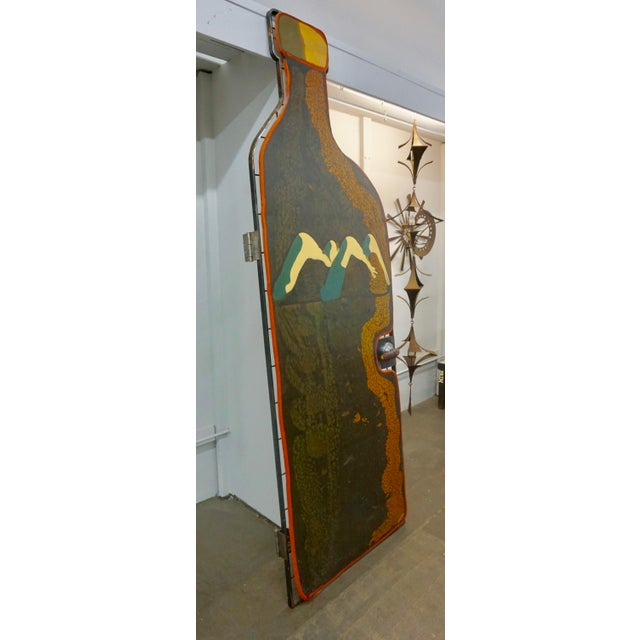 Contemporary Colorful Resin Door by Gaetano Pesce for Chiat Day For Sale - Image 3 of 10