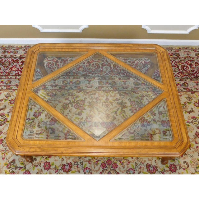 Drexel Heritage Drexel Heritage Cabernet Collection Coffee Table For Sale - Image 4 of 9