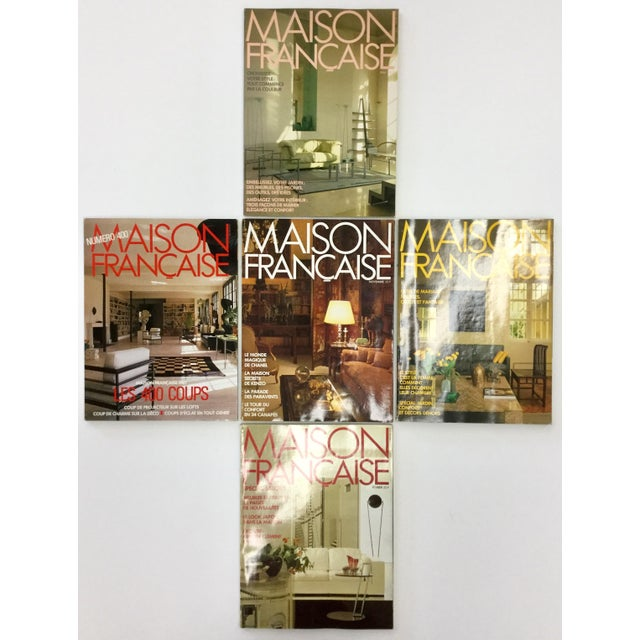 French Interior Decorating Magazines - Set of 5