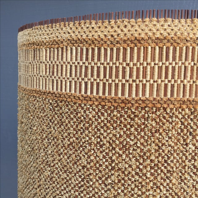 Ceramic Coral Table Lamp & Maria Kipp Shade For Sale - Image 5 of 5