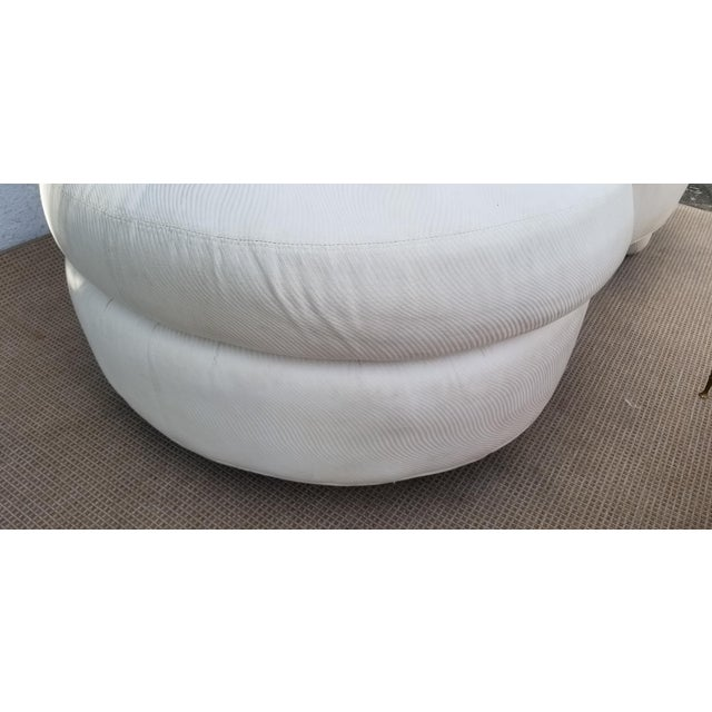 1980s Vintage Vladimir Kagan for Preview Chaise Lounge For Sale - Image 9 of 10