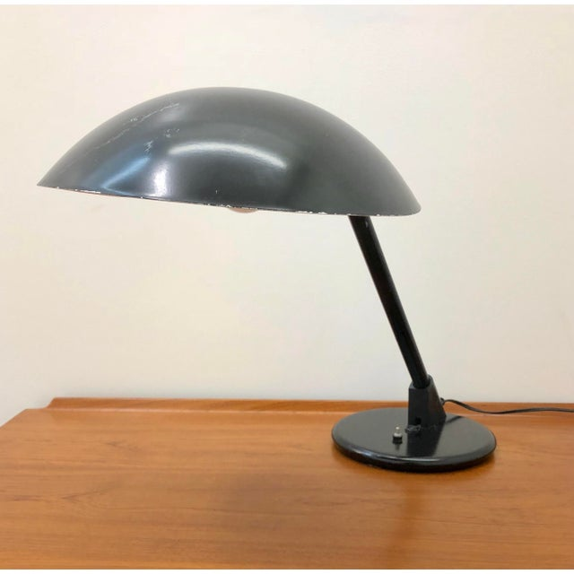 1960s 1960s Mid Century Modern Atomic Saucer Desk Lamp For Sale - Image 5 of 9