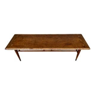 Vintage Mid Century Modern Lane Acclaim Coffee Table For Sale