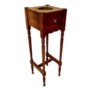 English Mahogany Drink Table For Sale