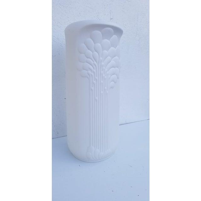 1960s Vintage Kaiser Of West Germany Sculptural Bisque Vase Chairish