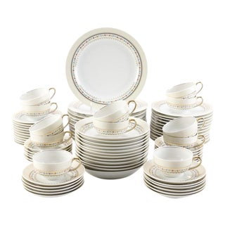 Raynaud & Co. Limoges China Set - 81 Pc.