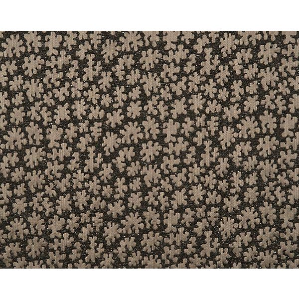 Contemporary Hinson for the House of Scalamandre Joanna Fabric in Charcoal For Sale - Image 3 of 3