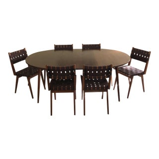 Mid Century Modern Dining Set Designed by Mel Smilow- 7 Pieces For Sale