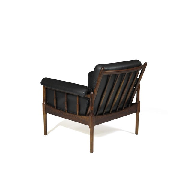 Mid 20th Century Torbjørn Afdal Rosewood Lounge Chairs - a Pair For Sale - Image 5 of 12