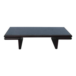 Harvey Probber Style Resin Top Modernist Coffee Table For Sale
