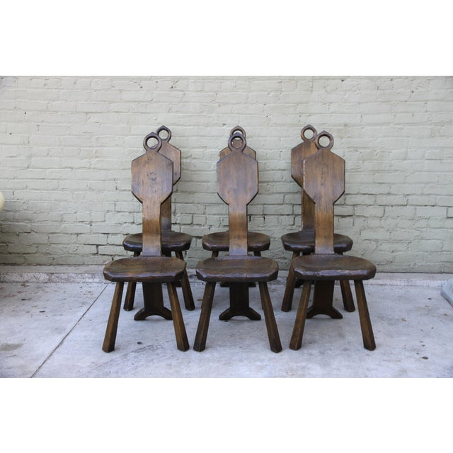 John Barbor Dining Chairs - Set of 6 - Image 3 of 9