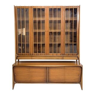 Mid-Century Wall Unit For Sale