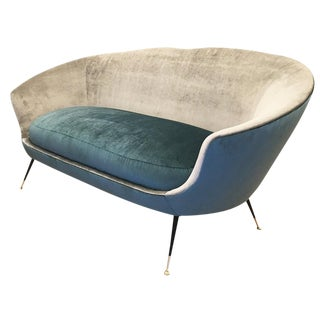 Mid-Century Loveseat in the Manner of Ico Parisi