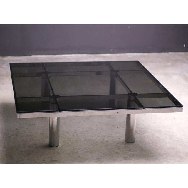 Traditional Andre Coffee Table Designed by Afra and Tobia Scarpa for Knoll International For Sale - Image 3 of 8