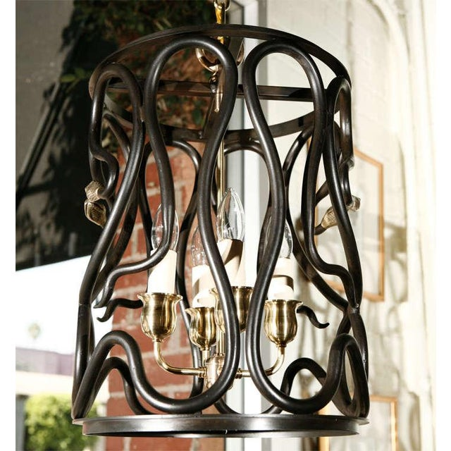 2010s Snake Lantern by Paul Marra For Sale - Image 5 of 7