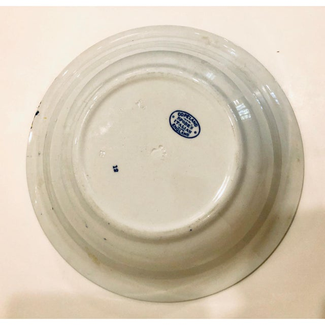 Ceramic Early 20th Century Copeland Spode Italian Bowl For Sale - Image 7 of 10