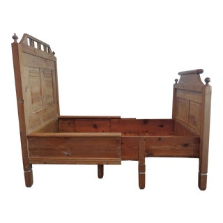 20th Century Scandinavian Pine Child's Bed