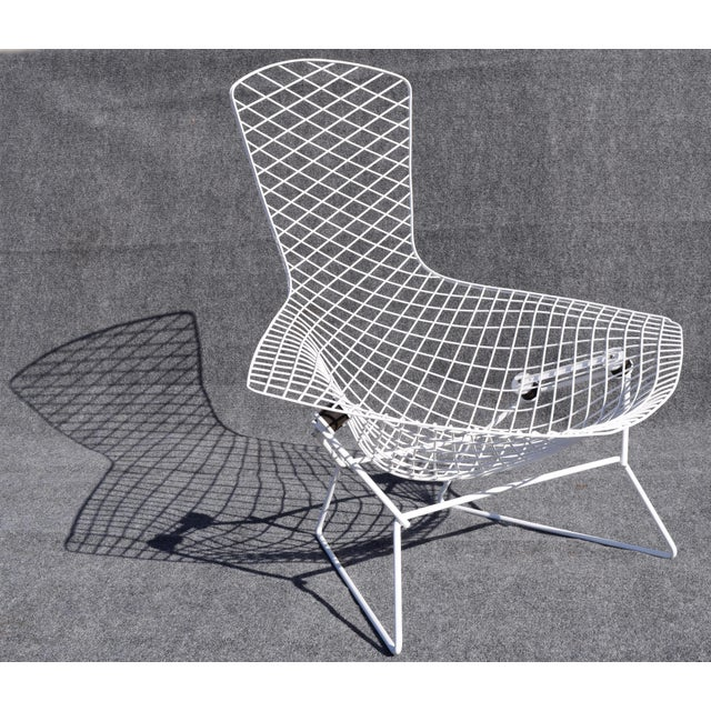 "Mid-Century Modern ""Bird"" Chair by Harry Bertoia for Knoll For Sale - Image 5 of 8"