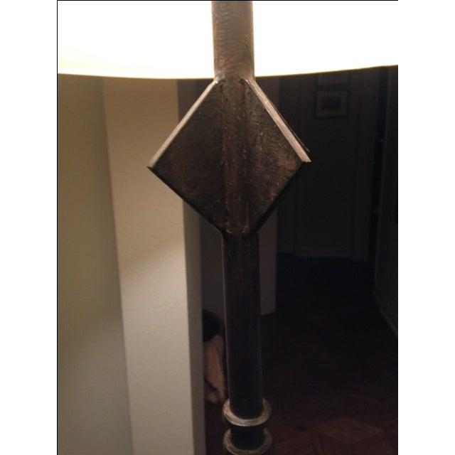 Iron Floor Lamp - Image 3 of 4