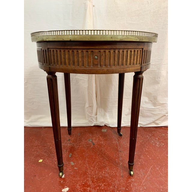 Late 19th Century Louis XVI Style Gueriodon Table For Sale - Image 5 of 9