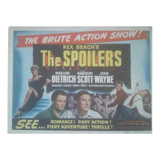 1942 The Spoilers Lobby Cards - Set of 8 For Sale