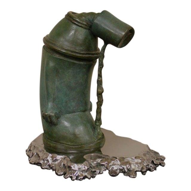"""Ashamed of Myself"" a New Bronze Sculpture by Ivan Palmer For Sale"