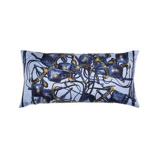 """Brides Rebelles"" Hermès Silk Scarf Pillow For Sale"