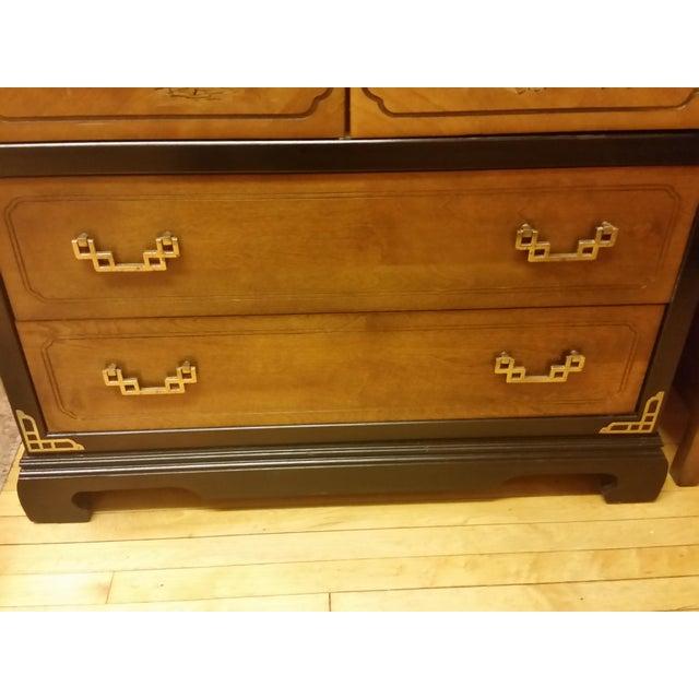 Bassett Chinoiserie Tall Dresser Chairish