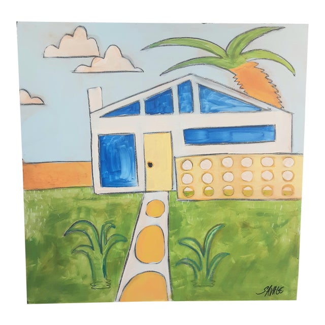 """""""Palm Springs 3"""" Painting For Sale"""