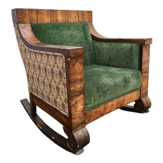 Arts and Crafts Rocking Chair For Sale