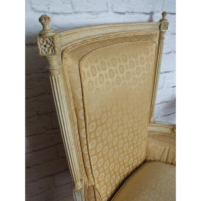 French Directoire Louis XVI Fauteuil - Image 4 of 11