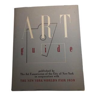 Art Guide New York World's Fair, 1939