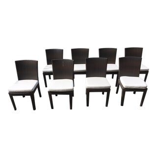 Dedon Outdoor Dining Chairs - Set of 10